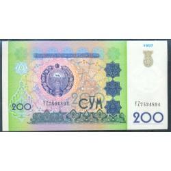 Uzbekistán 200 Sum PK 80 (1.997) S/C