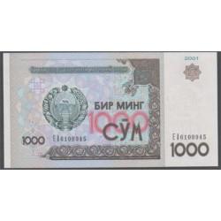 Uzbekistán 1000 Sum PK 82 (2.001) S/C