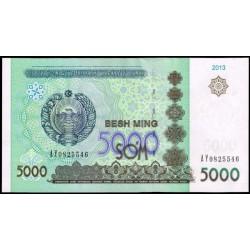 Uzbekistán 5.000 Sum PK 83 (2.013) S/C
