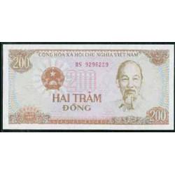 Vietnam 200 Dong PK 100 (1987) S/C