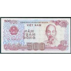 Vietnam 500 Dong PK 101 (1988) S/C