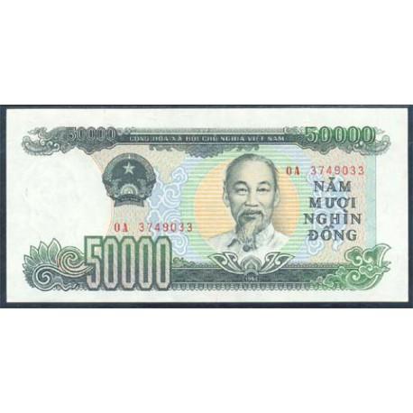 Vietnam 50.000 Dong PK 116 (1.994) S/C