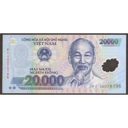 Vietnam 20.000 Dong PK 120 (2.014) S/C