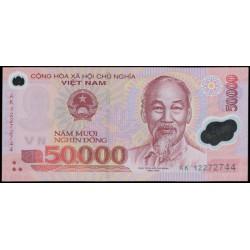 Vietnam 50.000 Dong PK 121 (2.012) S/C