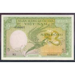 Vietnam del Sur 5 Dong PK 2 (1.955) (Manchas) S/C-
