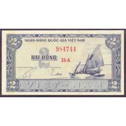 Vietnam del Sur 2 Dong PK 12 (1955) S/C-