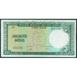 Vietnam del Sur 20 Dong PK 16 (1.964) EBC-