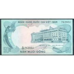Vietnam del Sur 50 Dong PK 30 (1972) S/C-