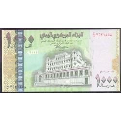 Yemen (Rep. Arábica) 1.000 Rials Pk 33 (2.004) S/C