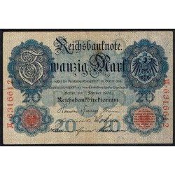 Alemania 20 Marcos PK 31 (7-2-1.908) BC+
