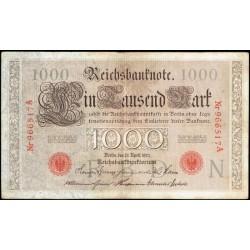Alemania 1.000 Marcos PK 44a (21-4-1.910) MBC-