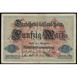 Alemania 50 Marcos PK 49b (5-8-1.914) MBC