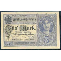 Alemania 5 Marcos PK 56b (1-8-1.917) S/C
