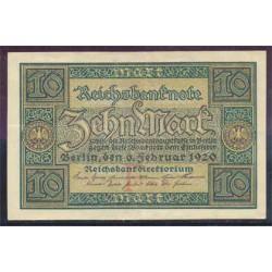 Alemania 10 Marcos PK 67a (6-2-1.920) EBC+