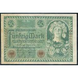 Alemania 50 Marcos PK 68 (23-7-1.920) S/C-