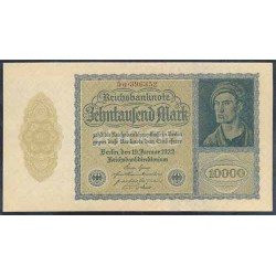 Alemania 10.000 Marcos PK 72 (19-1-1.922) S/C-