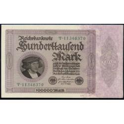 Alemania 100.000 Marcos PK 83a (1-2-1.923) S/C-