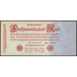 Alemania 500.000 Marcos PK 92 (25-7-1.923) S/C