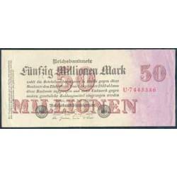 Alemania 50 Mill. Marcos PK 98a (1-9-1.923) EBC-