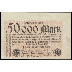 Alemania 50.000 Marcos PK 99 (9-8-1.923) MBC