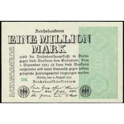 Alemania 1 Millón de Marcos PK 102b (9-8-1.923) S/C-