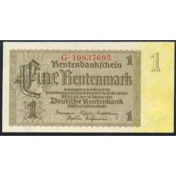 Alemania 1 Rentenmark PK 173b (30-1-1.937) S/C