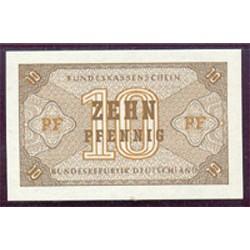 Alemania Federal 10 Pfennig PK 26 (1.967) S/C