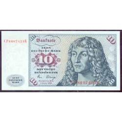 Alemania Federal 10 Marcos PK 31c (2-1-1.980) S/C