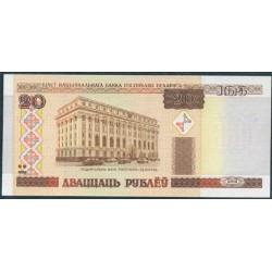 Bielorrusia 20 Rublos PK 24 (2.000) S/C