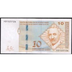 Bosnia-Herzegovina 10 Convertible Marka PK 80a (2.012) S/C