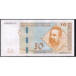 Bosnia-Herzegovina 10 Convertible Marka PK 81a (2.012) S/C