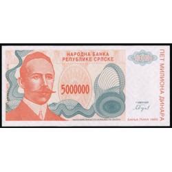 Bosnia-Herzegovina 5.000.000 Dinares PK 153 (1.993) S/C