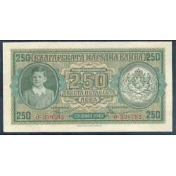 Bulgaria 250 Leva PK 65 (1.943) EBC