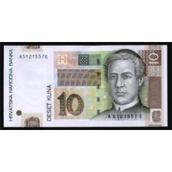 Croacia 10 Kuna PK 38a (2.001) S/C