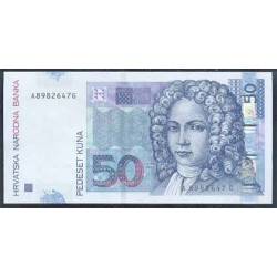 Croacia 50 Kuna PK 40 (7-3-2.002) S/C