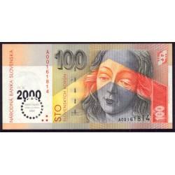Eslovaquia 100 Coronas PK 36 (Milenio) (1-9-1.993) S/C