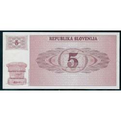 Eslovenia 5 Tolarjev PK 3 (1.990) S/C