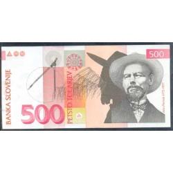 Eslovenia 500 Tolarjev PK 16b (15-1-2.001) S/C