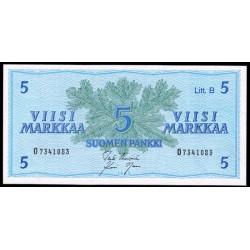 Finlandia 5 Markka Pk 99 (1.963) S/C