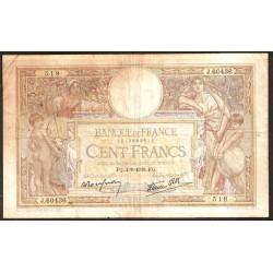 Francia 100 Francos PK 86b (1.938) MBC-