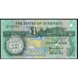 Guernsey 1 Libra PK 62 (2.013) S/C