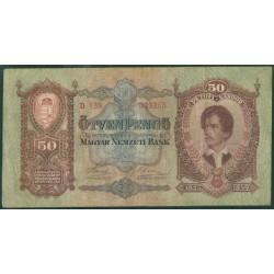 Hungría 50 Pengö PK 99 (1-10-1.932) MBC-