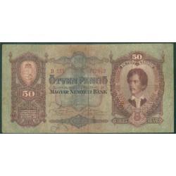 Hungría 50 Pengö PK 99 (1-10-1.932) BC