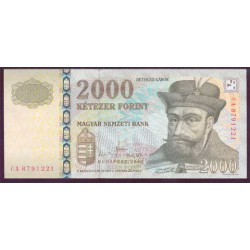 Hungría 2.000 Florines PK 198b (2.008) S/C