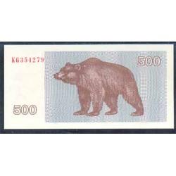 Lituania 500 Talonu PK 44 (1.992) S/C