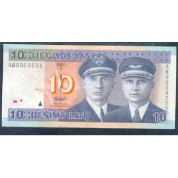 Lituania 10 Litu PK 65 (2.001) S/C