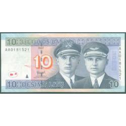 Lituania 10 Litu PK 68 (2.007) S/C