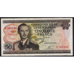 Luxemburgo 50 Francos PK 55a (25-8-1.972) EBC