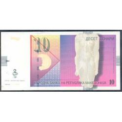 Macedonia 10 Dinares PK 14g (1-2.007) S/C