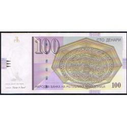Macedonia 100 Dinares PK 16i (2.009) S/C